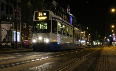nachtwerk openbaar vervoer GVB