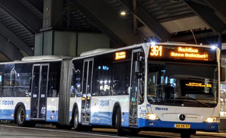 nachtdienst in het openbaar vervoer
