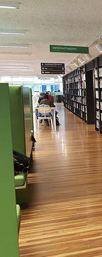 zelfroosteren personeelsplanning in bibliotheek brussel