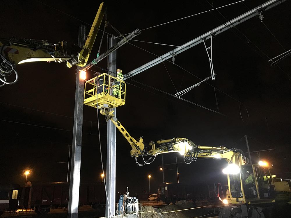 Nachtwerk Werf Station Vilvoorde (1)