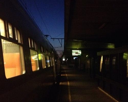 station werken nacht