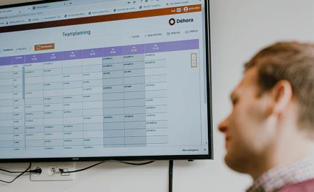 dehora software teamplanning personeel