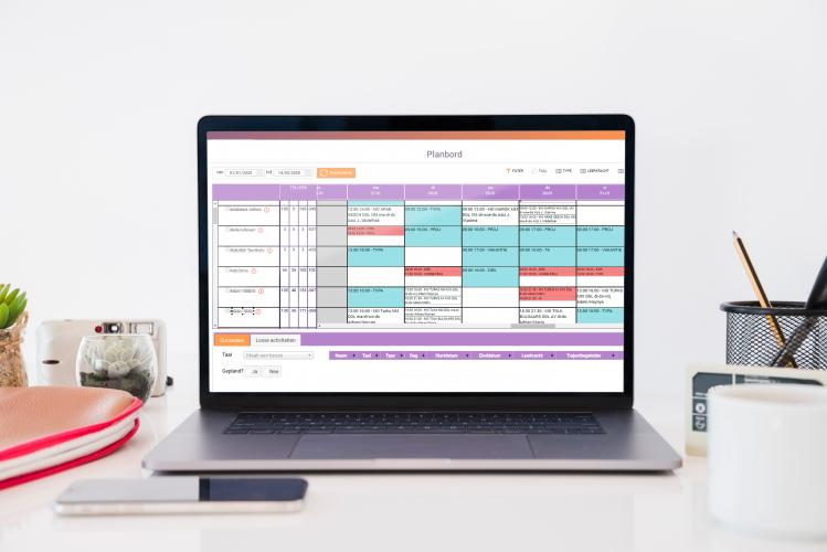 online personeelsplanning werkrooster déhora