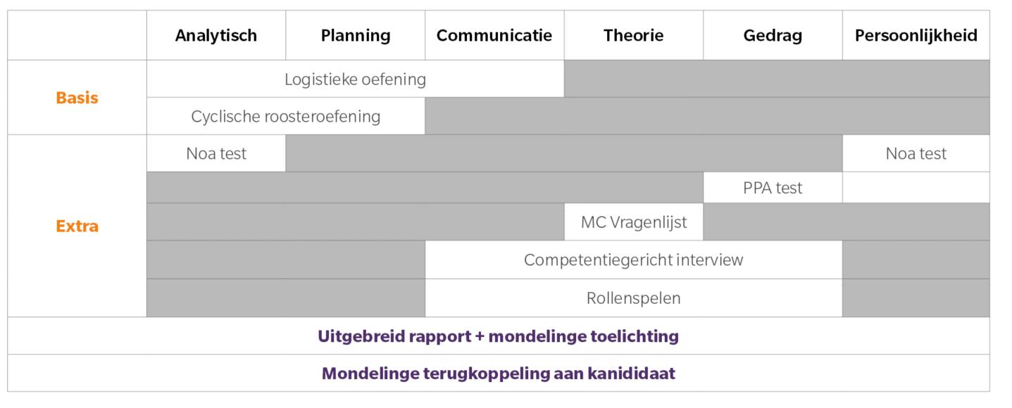 ontwikkeling personeelsplanner of dispatcher
