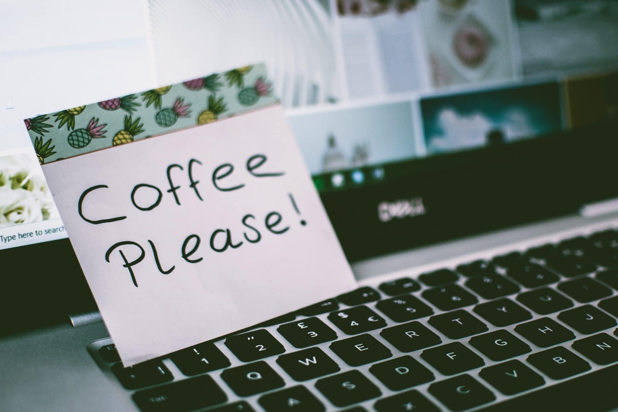 koffie werken in ploegen